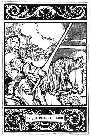 Eldorado (poem) - Illustration by William Heath Robinson
