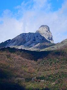 Rocca Novara detta anche Rocca Salvatesta, monti Peloritani