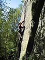 Rock climbing on Rivelin Edge - geograph.org.uk - 689142.jpg