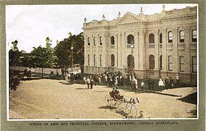 Rockhampton School of Arts - Rockhampton School of Arts, 1908
