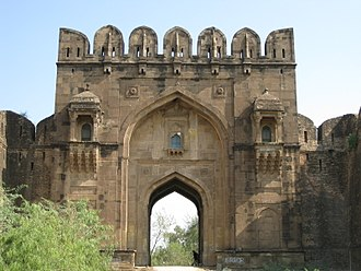 Jhelum District - Image: Rohtas Fort Zohal Gate