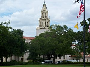 Knowles Memorial Chapel - Image: Rollins College Knowles Chapel 02
