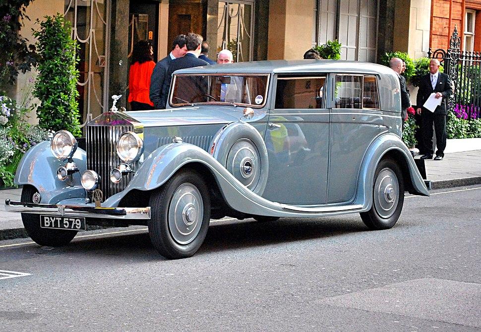 Rolls-Royce 20-25 Gurney Nutting Saloon