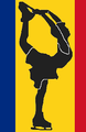 Romania figure skater pictogram.png
