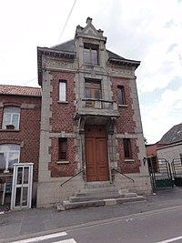 Romeries (Nord, Fr) mairie.jpg