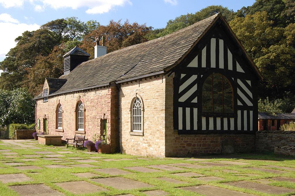 Romiley - Chadkirk Chapel.JPG