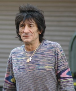 Ronnie Wood British rock musician, member of The Rolling Stones