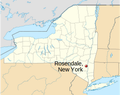 Rosendale, NY location map.png
