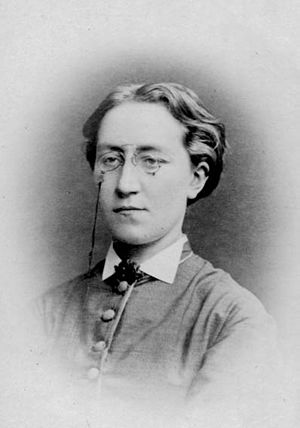 Rosina Heikel - Rosina Heikel in 1875