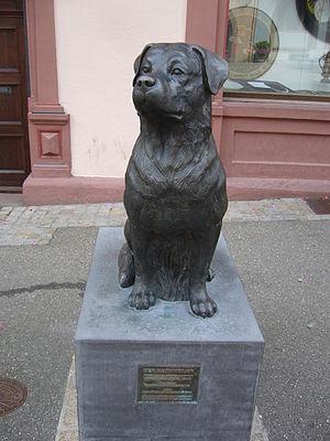 Rottweiler - Rottweiler memorial in Rottweil