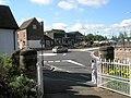 Roundabout just past The Bear at Bridgnorth - geograph.org.uk - 1452844.jpg