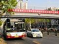 Route 322 at Ximen station, Tongzhou.jpg