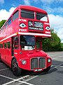 Routemaster bus RML 2686 Routemaster 50 livery SMK 686F Metrocentre rally 2009 pic 1.JPG
