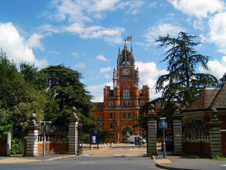 Founder's Building - The main gate of the college with the Founder's Building in the background
