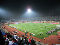 The Royal Bafokeng Stadium in Phokeng, nearby Rustenburg