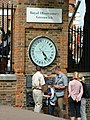 Royal Observatory Clock in Greenwich Park. - geograph.org.uk - 298634.jpg