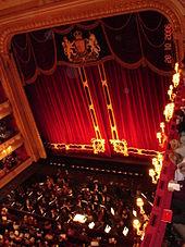 интерьер большого театра девятнадцатого века