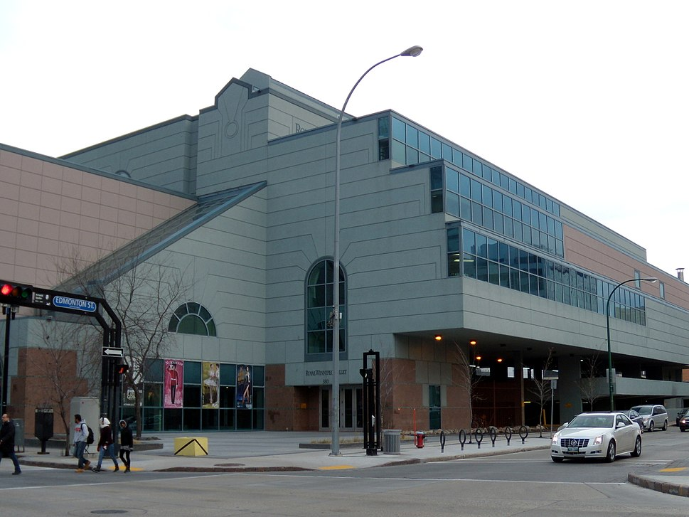 Royal Winnipeg Ballet building, 380 Graham Avenue, Winnipeg