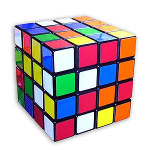 Rubik's Revenge - Rubik's Revenge in scrambled state