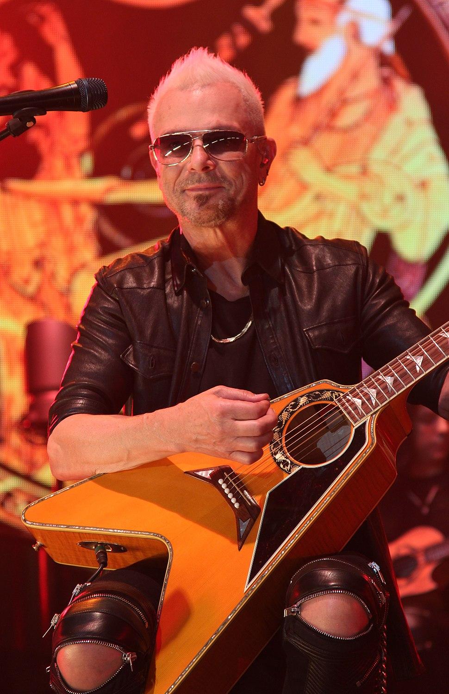 Rudolf Schenker - Scorpions MTV Unplugged April 2014