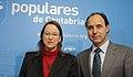 Rueda de prensa de Ignacio Diego y Leticia Díaz.jpg