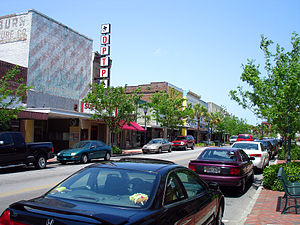 Orangeburg, South Carolina - Russell Street, downtown's main street