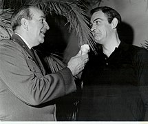 "Russhon and Connery on set of ""Thunderball"" 130114-F-ME954-003.jpg"