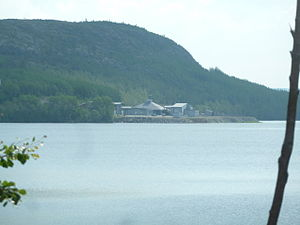Storskog - The Russian border checkpoint, as seen from Storskog, Norway