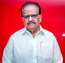 S. P. Balasubrahmanyam at the 'Gurkha' Audio Launch.jpg