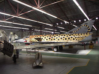 South African Air Force Museum - Image: SAAF Cheetah 001