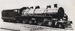 South African Class MD 2-6-6-2 - CSAR no. 1001, SAR no. 1617, c. 1910