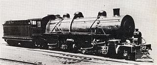 South African Class MD 2-6-6-2 class of 1 South African Mallet locomotive
