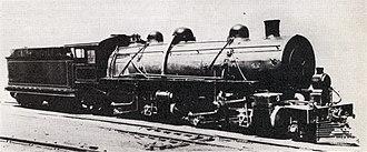 South African Class MD 2-6-6-2 - CSAR no. 1001, SAR no. 1617, c. 1910