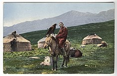 SB - Kazakh man on horse with golden eagle.jpg