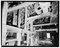 SECOND FLOOR AND LOFT, LOOKING WEST - Peters Mill, U.S. Route 209 and T301, Bushkill, Pike County, PA HABS PA,52-BUSH,2-8.tif