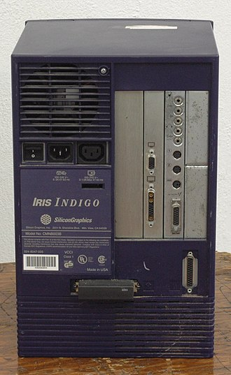 SGI Indigo - SGI Indigo, back