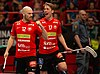 SM-final Herrar Innebandy 2018 Ericson Stenberg and Winroth.jpg