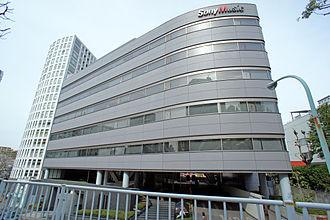 Sony Music Entertainment Japan - SME Nogizaka Building in Akasaka, Minato, Tokyo.