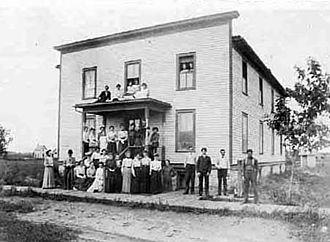 Southern Minnesota Normal College - Harpman Hall, 1902.