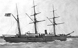 SMS Eber (1887) - Image: SMS Eber (1887)