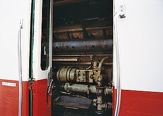 SNCF Class X 2400 - Motor of the X 2426.