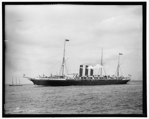 SS Paris (ex City of Paris), okolo 1890