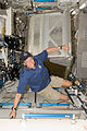 STS-128 Christer Fuglesang prepares to install a new crew quarters compartment - 20090901.jpg