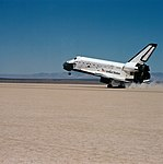 STS-51-F landing at Edwards Air Force Base (51f-s-161).jpg