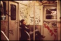 SUBWAY CAR. (FROM THE SITES EXHIBITION. FOR OTHER IMAGES IN THIS ASSIGNMENT, SEE FICHE NUMBERS 42, 97.) - NARA - 553823.tif