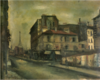 SaekiYūzō-1925-A Street with a View of the Eiffel Tower.png