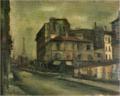 SaekiYūzō-1925-A Street with a View of the Eiffel Tower.png