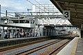 Saijo Station tracks (14105579477).jpg