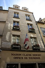 File saint germain en laye maison claude debussy 2011 10 - Office du tourisme saint germain en laye ...