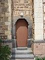 Saint-Just-d'Avray - Église - Entrée droite.JPG